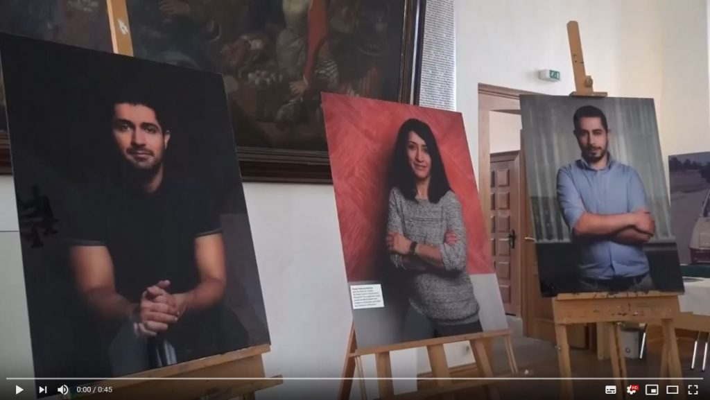 Youtube-Video zur Ausstellung in Hoyerswerda, 05.11.2018